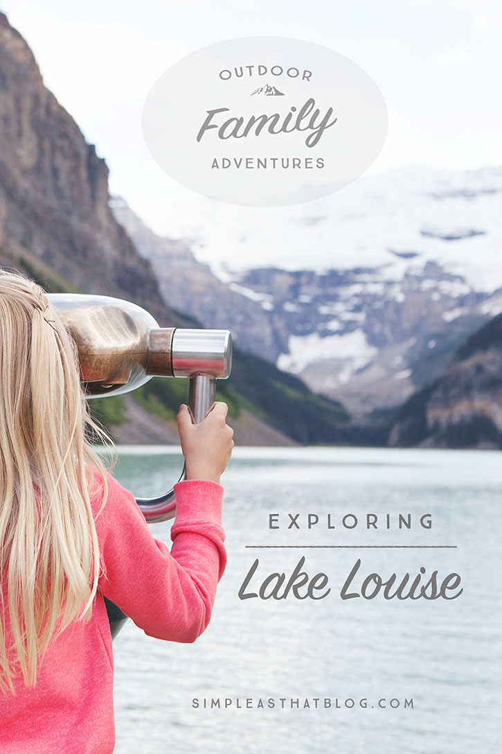 Come explore the beauty and wonder of Banff National Park with us - first stop Lake Louise!