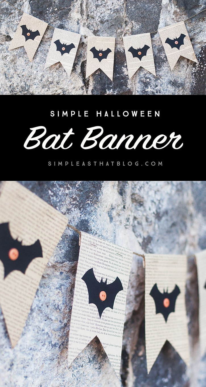 Create a simple Halloween Banner