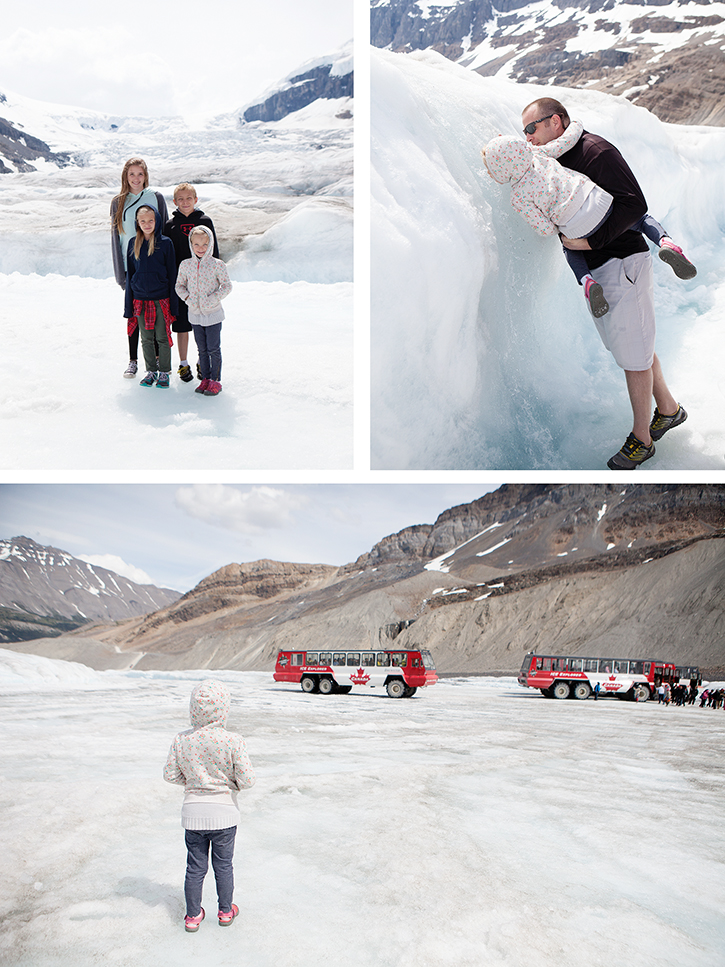 Columbia Icefields Adventure - Explore the surface of the Athabasca Glacier aboard a giant Ice Explorer!