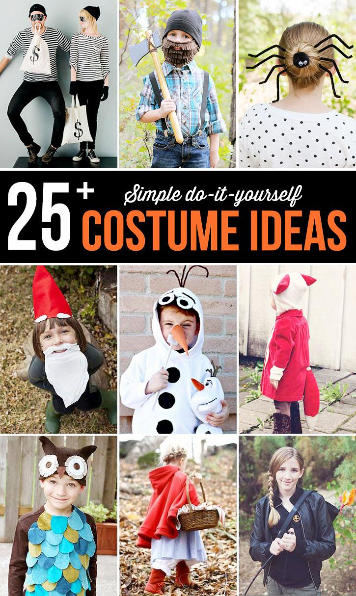 Simple DIY Costumes Ideas