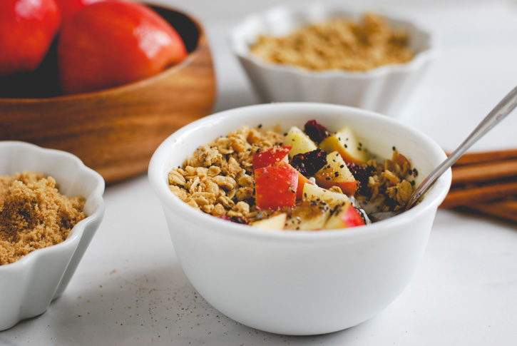 Apple Pie Breakfast Bowl (Recipe via Simply Happenstance for Simple As That Blog)-11