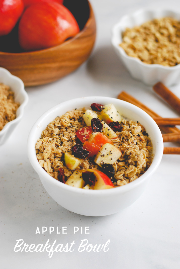 Apple Pie Breakfast Bowl recipe