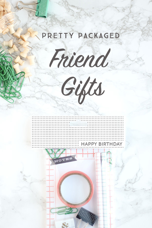A free printable for those days when you need quick friend gifts.