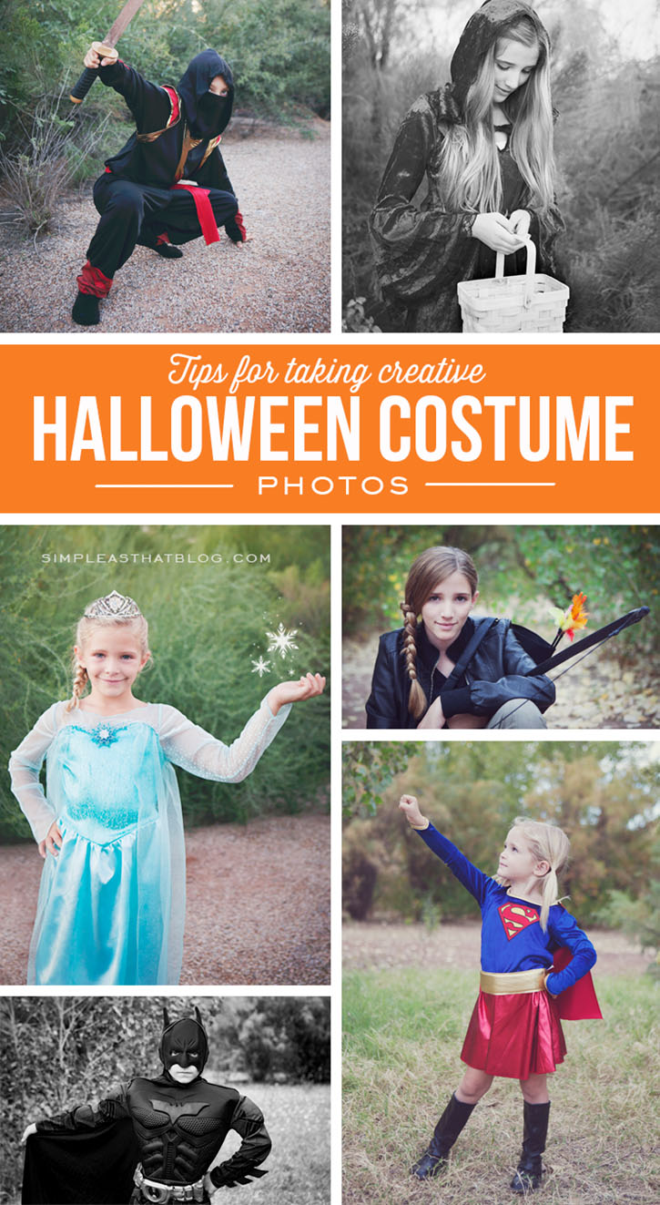 Tips for taking Creative Photo of your kids in Costume