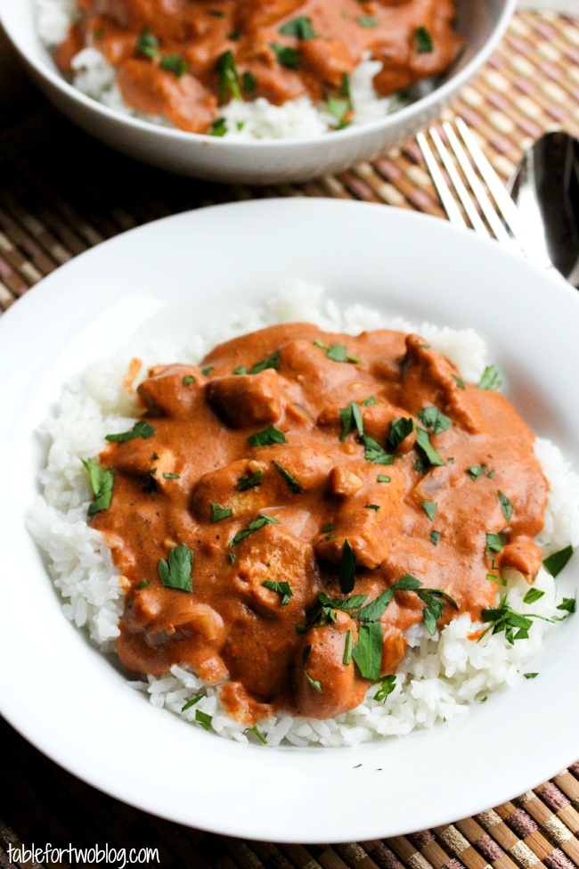 Chicken Tikka Masala in the Crock pot