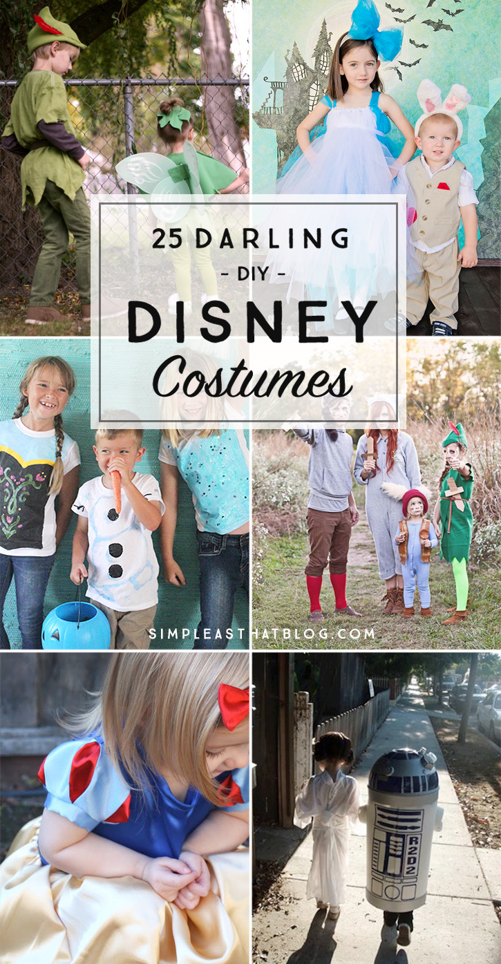 Disney Costume Ideas 25 Darling Diy Disney Costumes