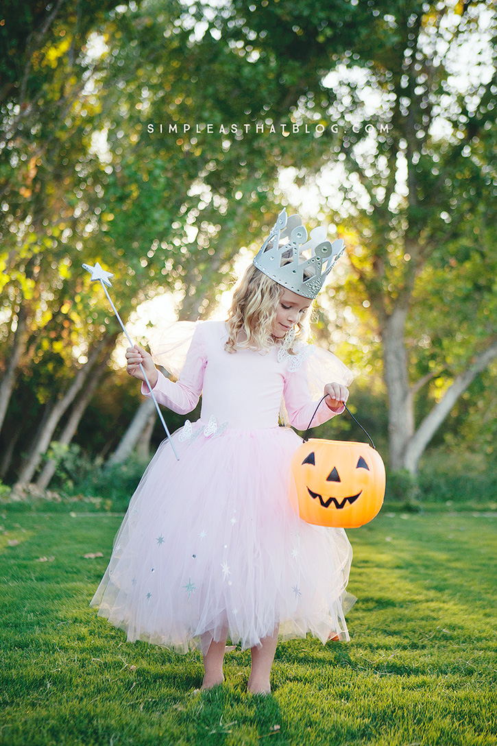 Diy glinda and wicked witch of the west halloween costumes diy glinda the good witch wizard of oz halloween costume that requires little to no sewing maxwellsz