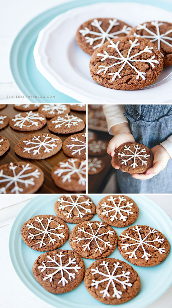 These soft, chewy cookies are perfect to give as gifts, enjoy as a family with a steaming cup of hot cocoa or leave out for Santa on Christmas Eve!