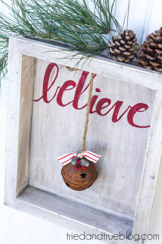 Shadow Box Christmas Gift
