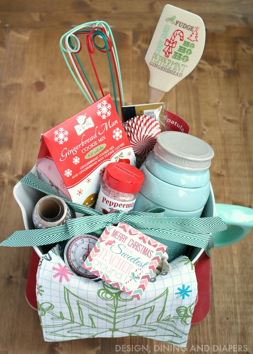 25 handmade gift ideas for Christmas kitchen gift basket ideas