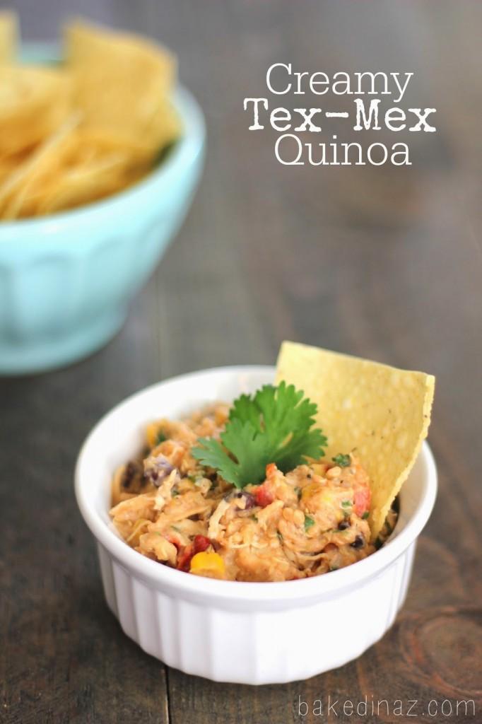 Slow Cooker Creamy Tex-Mex Quinoa