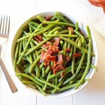 Simple Green Beans with Bacon
