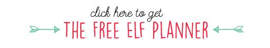 Free Printable Elf Planning Calendar