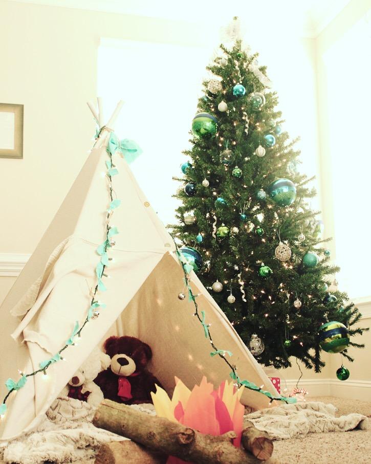Christmas Teepee
