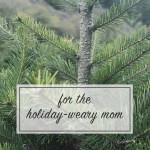 For the Holiday-Weary Mom