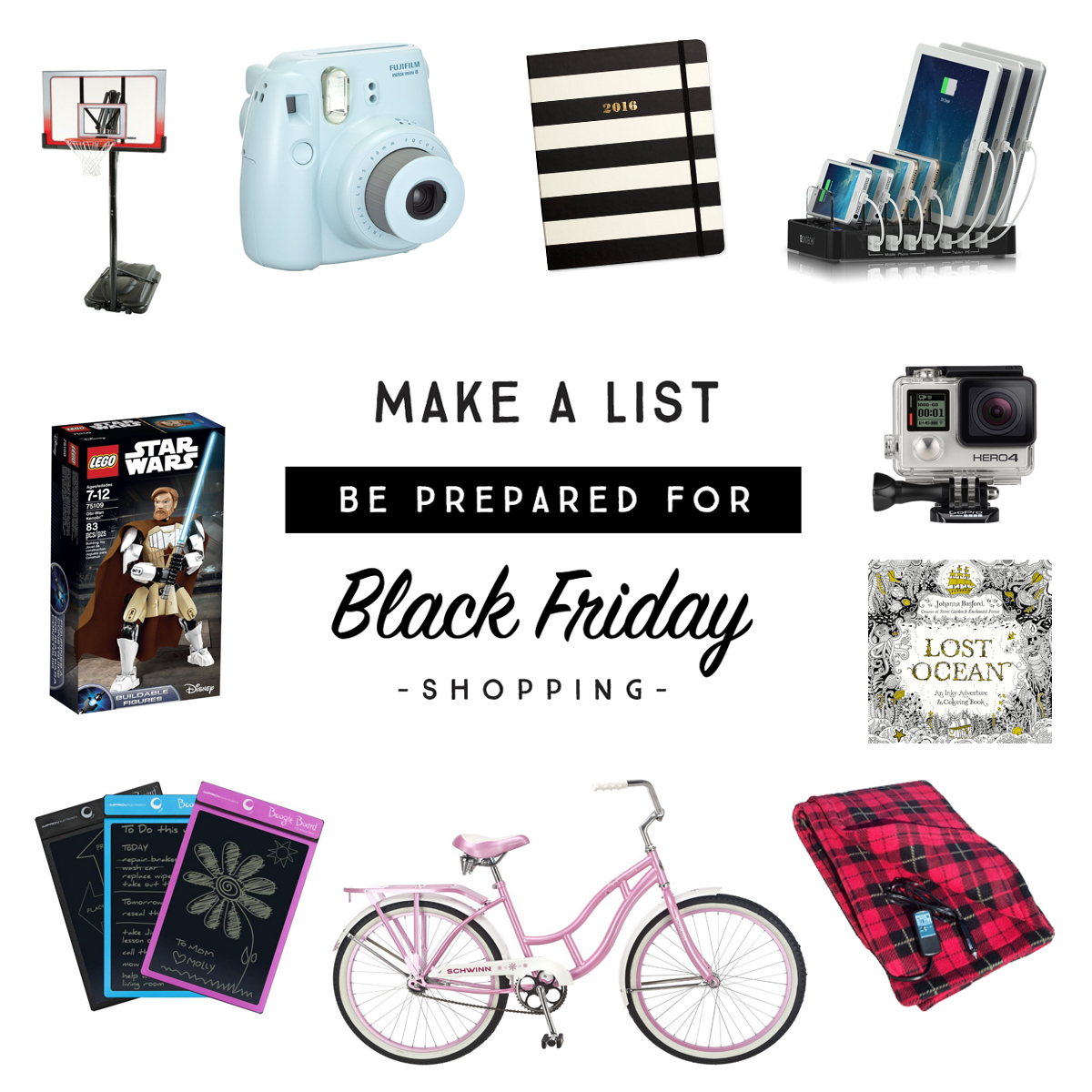 Make a List - Be Prepared for Black Friday Shopping