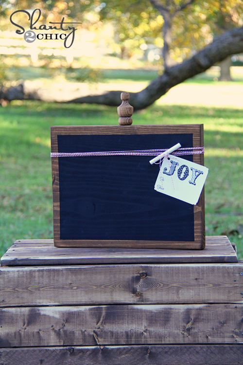 Custom Chalkboard Gift