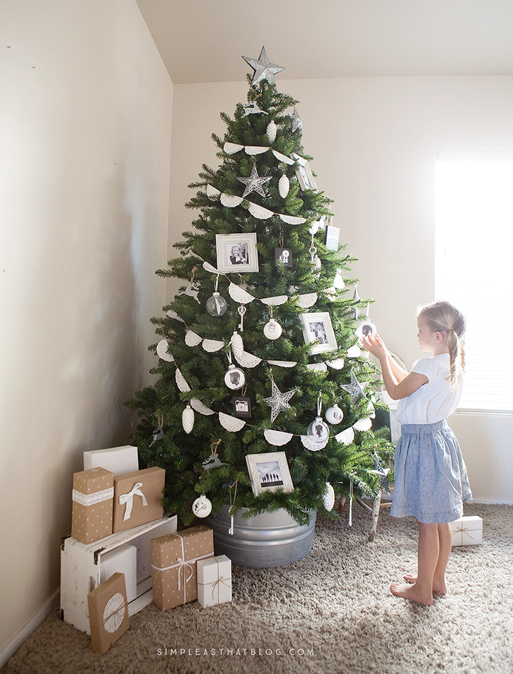 Simple Rustic Memory Tree