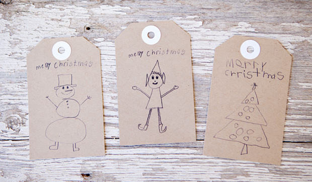 Children's Art Tags