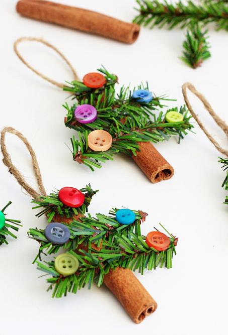 Cinnamon Stick Christmas Tree