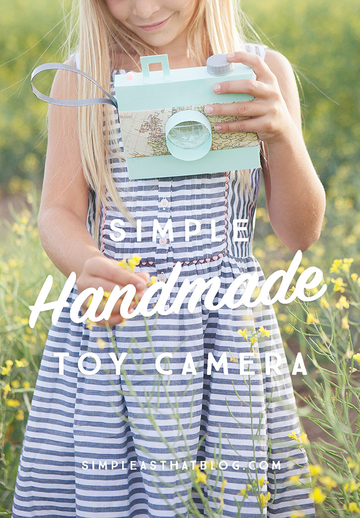 Simple Handmade Toy Camera