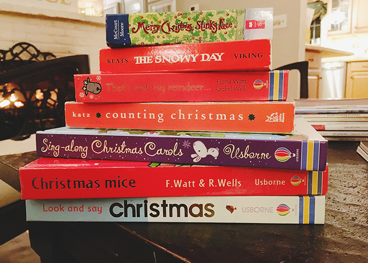 Christmas Books: My Favorite Holiday Tradition