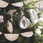 Simple, DIY, Silhouette Keepsake Ornaments