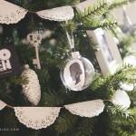 Simple, DIY, Silhouette Keepsake Ornaments