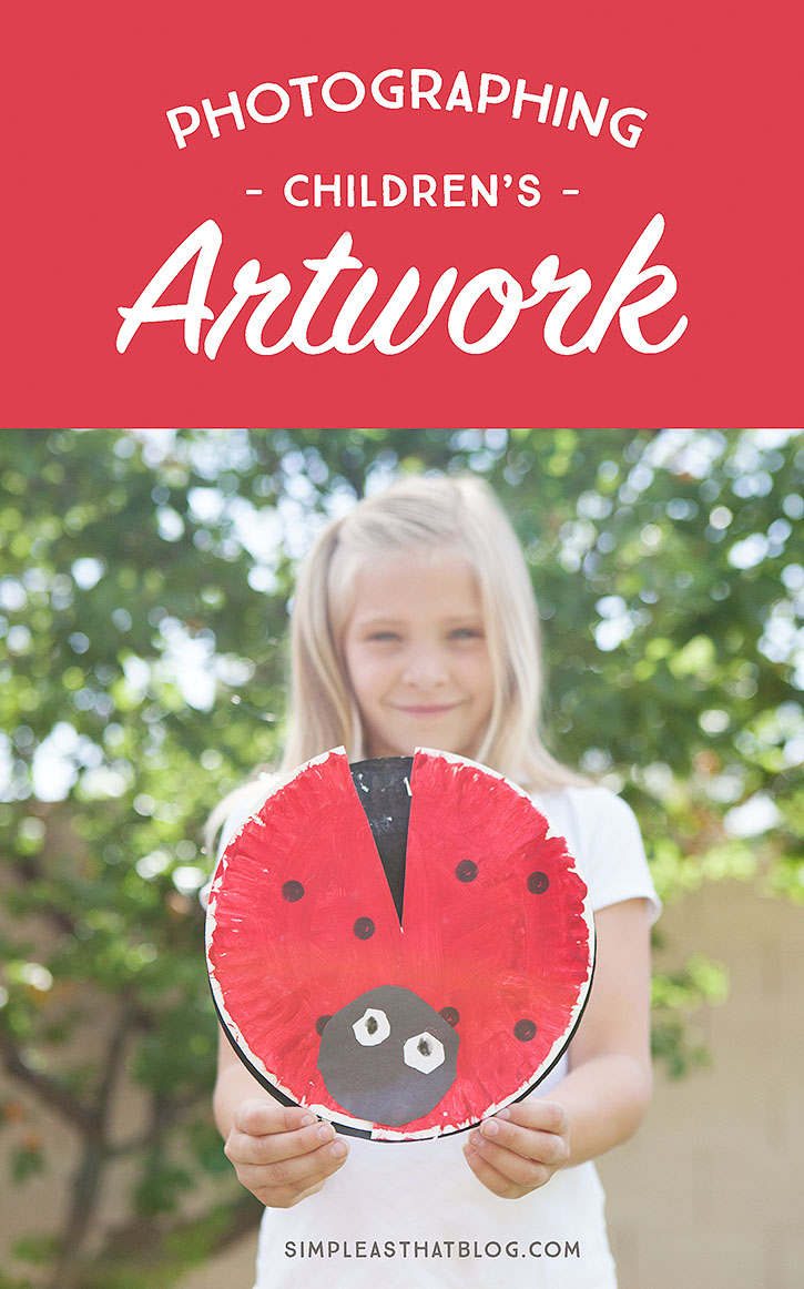 Photographing Children's Artwork