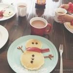 Yogurt Pancakes with Buttermilk Syrup
