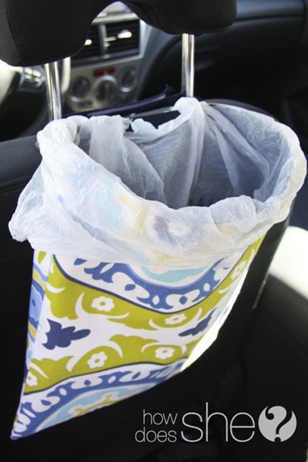 Trash Bag for the Car