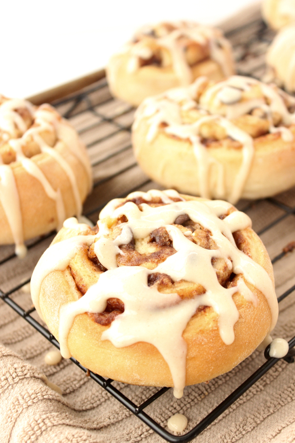Loaded Cinnamon Rolls