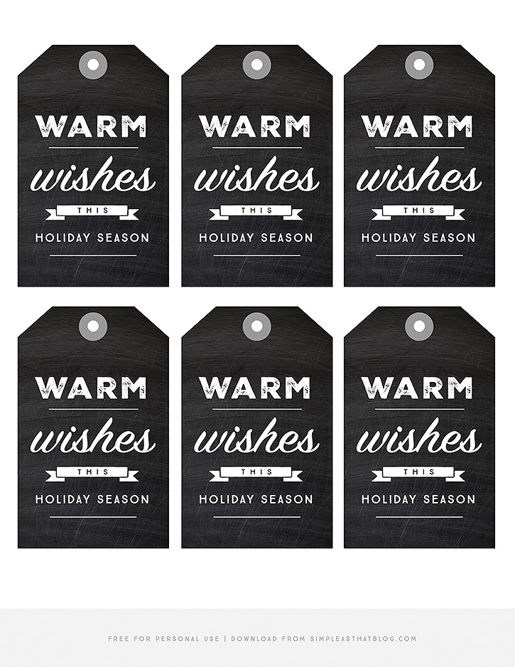 Printable Hot Chocolate Jar Labels