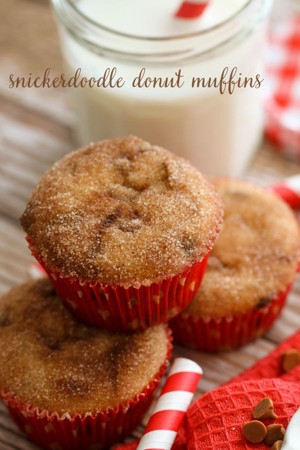 Snickerdoodle Donut Mufins