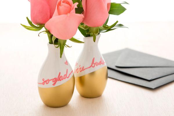 Valentine Bud Vases