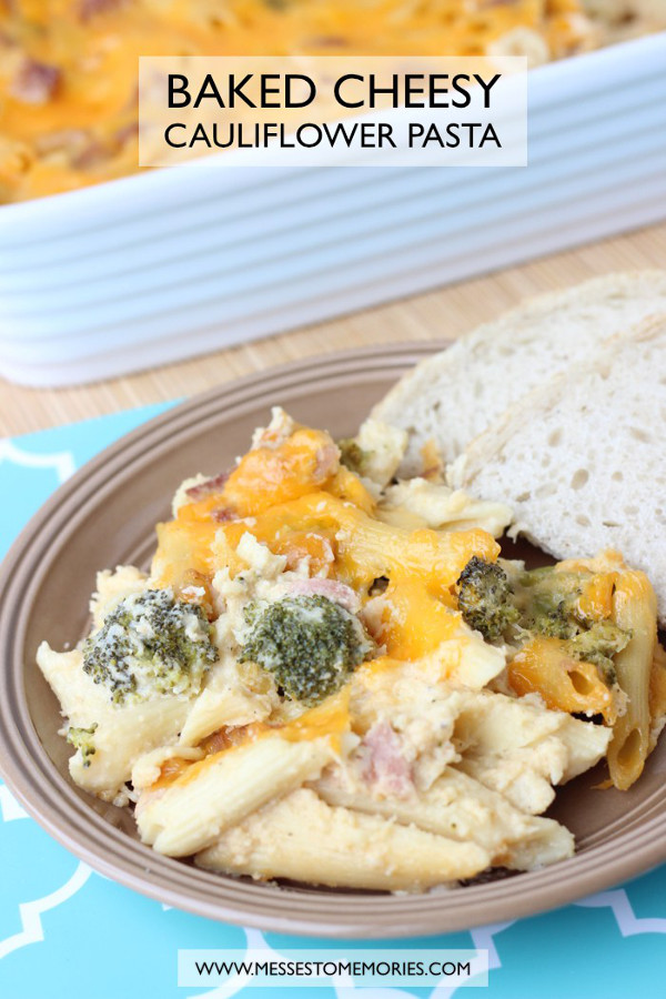 Cauliflower Pasta Bake