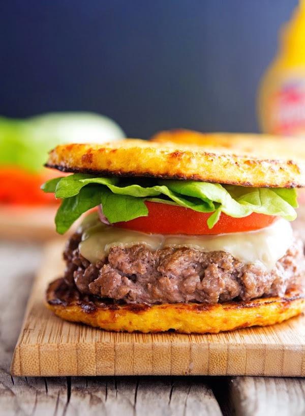 Cauliflower Crust Hamburger