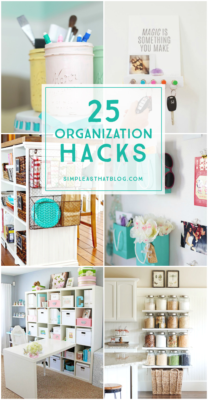 25 organization hacks for Kitchen organization hacks
