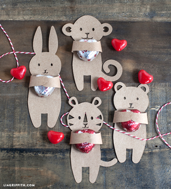 Valentine's Candy Huggers