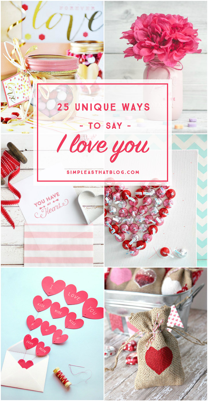 Say I love you this Valentine's day with one of these unique and heartwarming gift ideas.
