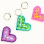 Key Chain Heart Valentines