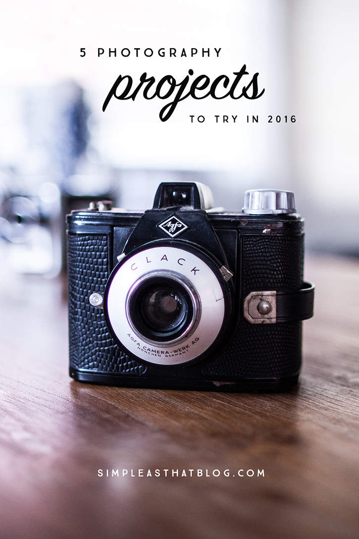5 Photography Projects to try This Year