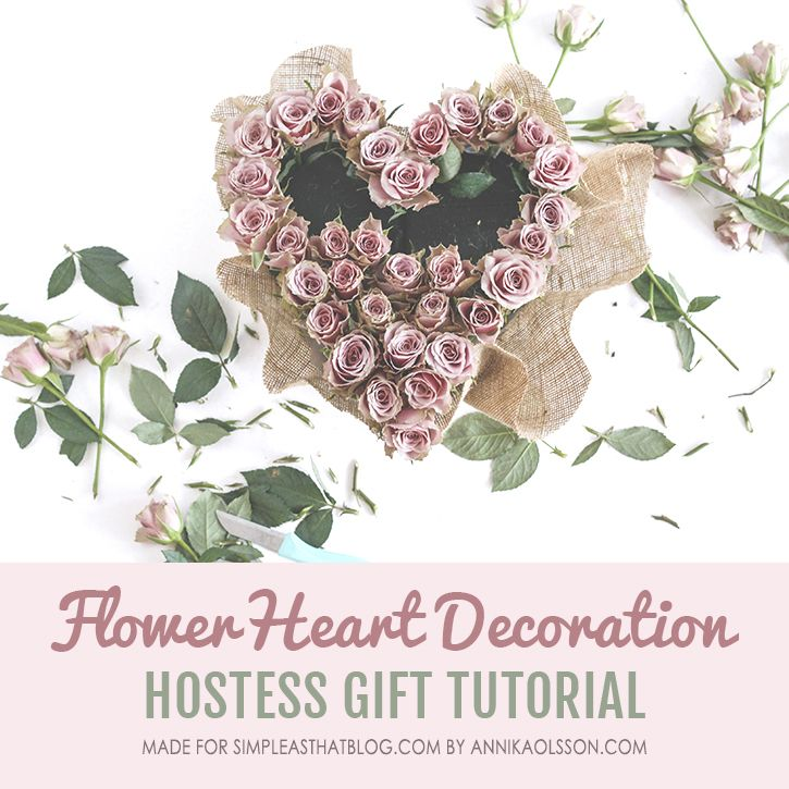 DIY Valentine's Day Floral Decor