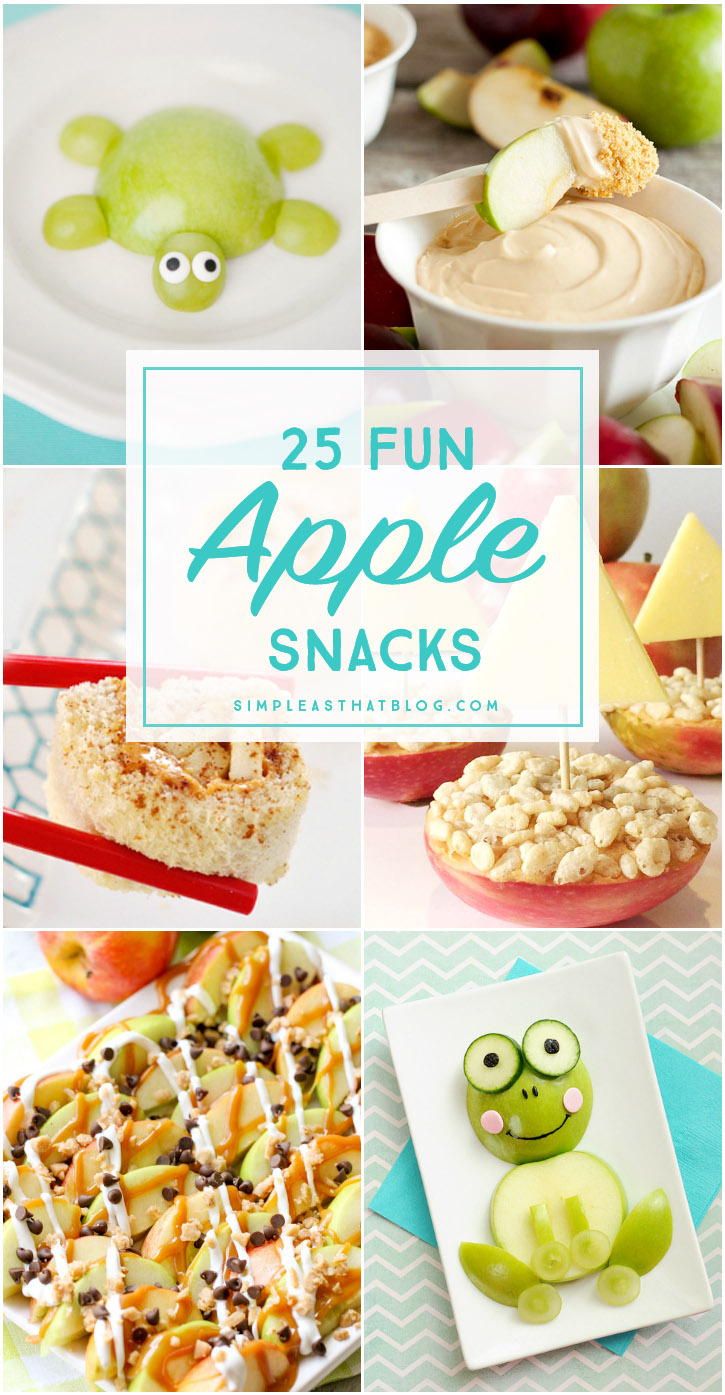 Creative ways to serve apples snacks that your kids will LOVE!