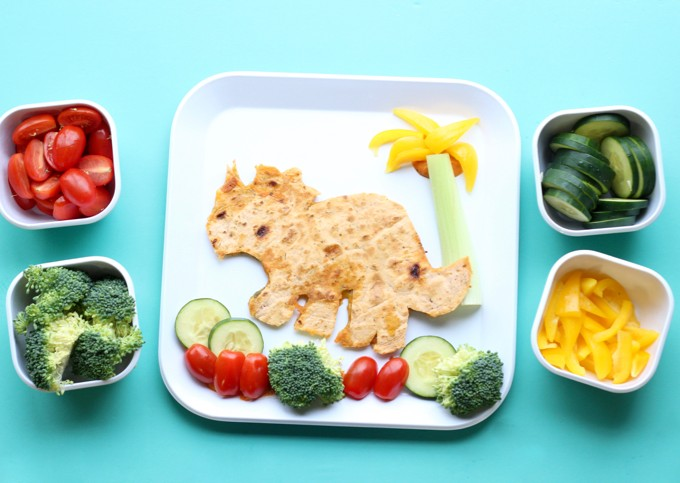 Dinosaur Food Art