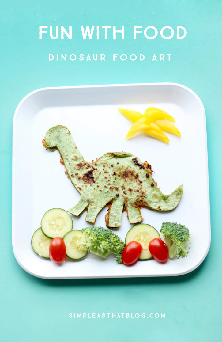 Dinosaur Quesadillas
