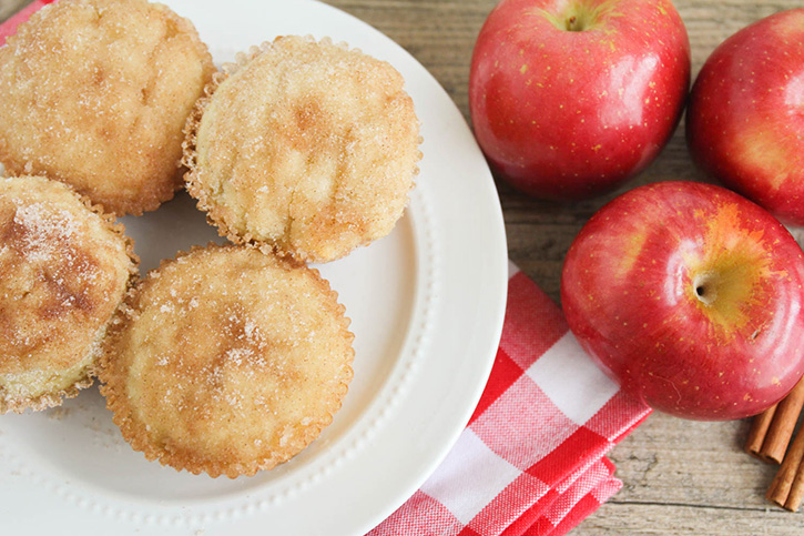 These applesauce muffins are a go-to snack in our family. My kids love it when a fresh batch of these are waiting for them after school. They're easy to make, but that cinnamon sugar topping makes them hard to resist!