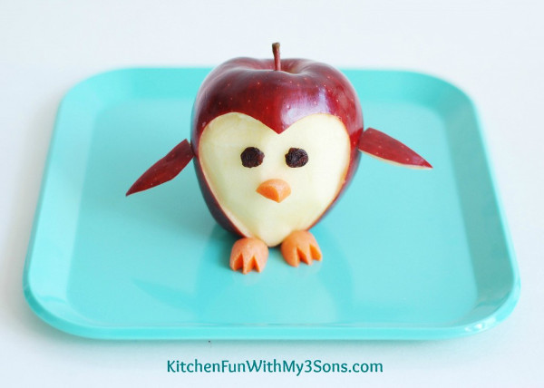 Penguin Fruit Apple