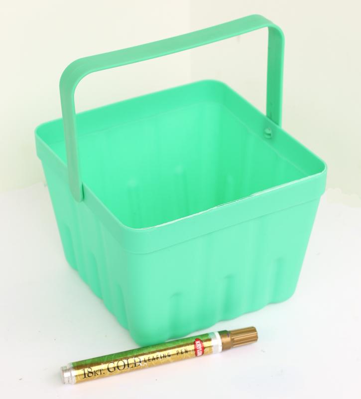 Simple Berry Basket Succulent Planter