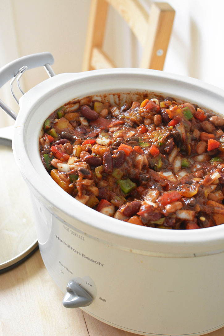 Cook Chili All Day in the Crock-Pot